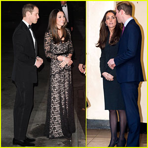 Kate Middleton & Prince William Glam Up to Watch 3D Movie!