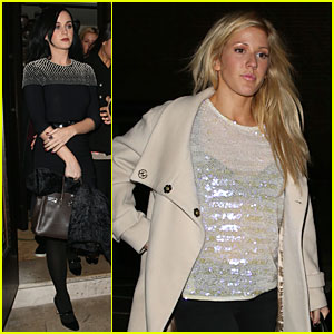 Katy Perry: Restaurant 34 Dinner with Ellie Goulding!