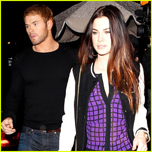 Kellan Lutz Dines with Mystery Gal After Miley Cyrus Rumors