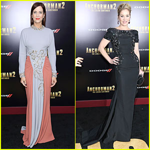 Kristen Wiig & Christina Applegate: 'Anchorman 2' NYC Premiere!