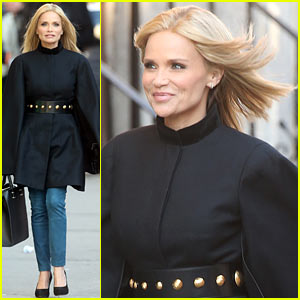 Kristin Chenoweth Makes Fashion Statement at Photo Shoot!