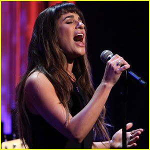 Lea Michele Performs 'Cannonball' on 'Ellen' (Video)