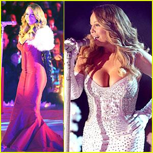 Mariah Carey: Rockefeller Center Christmas Tree Lighting 2013 Performer!