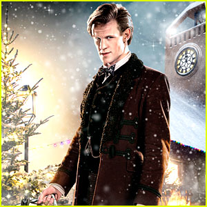 Matt Smith: 'Doctor Who' Christmas Special Trailer & Stills!