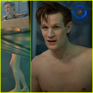 Matt Smith: Naked for 'Doctor Who Christmas Special' Stills!