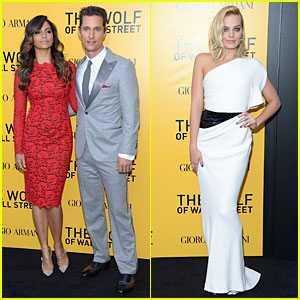 Matthew McConaughey & Margot Robbie: 'Wolf of Wall Street' NYC Premiere!