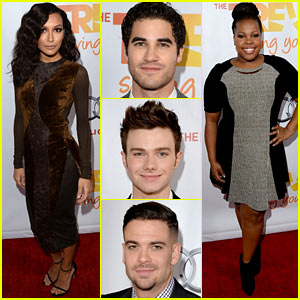 glee cast dating 2013