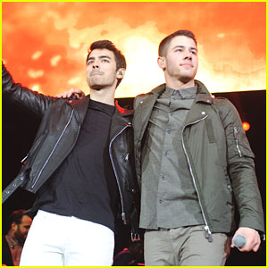 Nick & Joe Jonas Reunite... But Where is Kevin?