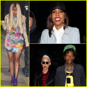 Nicki Minaj & Kelly Rowland: Jay Z Concert Ladies!