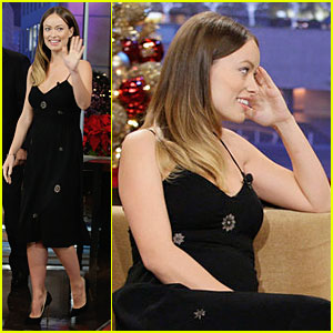 Olivia Wilde: I Stole a 'Jay Leno' Jacket for My Fetus!