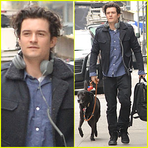 Orlando Bloom: Back in NYC After 'Hobbit' Hollywood Promo!