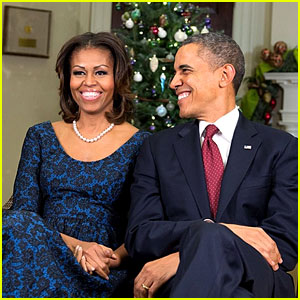 President & Michelle Obama Share Christmas Photos!