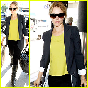Rachel McAdams: LAX Airport Departure Before Holiday Week!