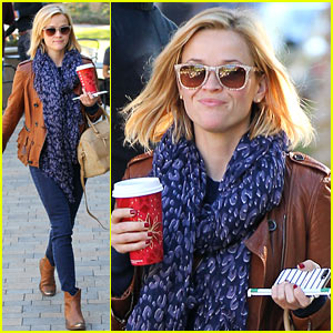 Reese Witherspoon: 'Back on the Road' for 'The Good Lie'!