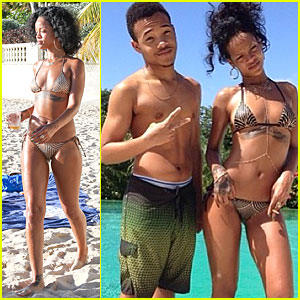 Rihanna: Dazzling Bikini Babe in Barbados!