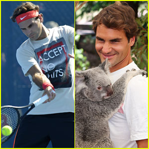 Roger Federer: Brisbane International 2014 After Baby News!
