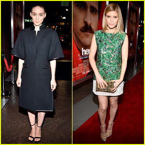 Rooney Mara: 'Her' Premiere with Sister Kate Mara!
