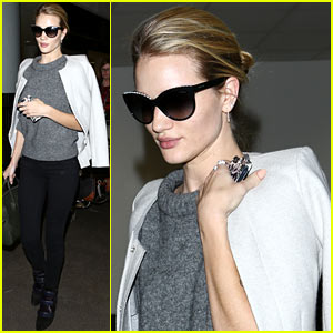 Rosie Huntington-Whiteley: Back in LA After British Fashion Awards