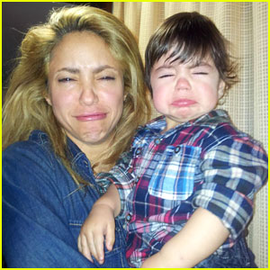 Shakira Makes Funny Faces with Her Cutie Pie Son Milan!