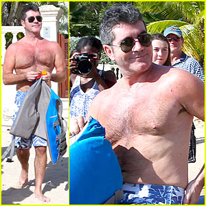 Simon Cowell: Where Can I Get Mince Pie in Barbados?