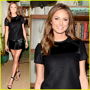 Stacy Keibler: Don't Wear White Shoes to Hipster Bars!