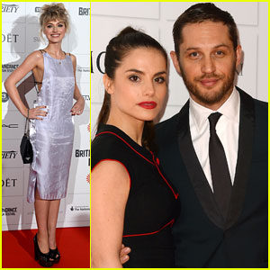 Tom Hardy & Imogen Poots: British Independent Film Awards 2013