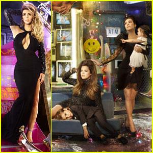 Kardashian Christmas Card 2013 Revealed – Who is Missing ...