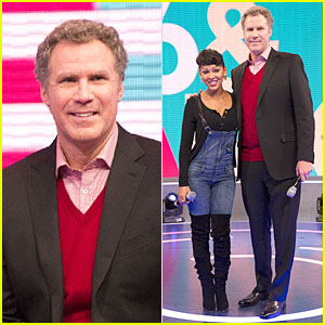 Will Ferrell & Meagan Good: 'Anchorman 2' Promo on '106 & Park'