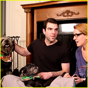 Zachary Quinto Prank Calls Jesse Tyler Ferguson - Watch Now!