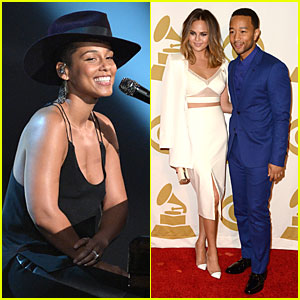 Alicia Keys & John Legend: Beatles Tribute Performers!