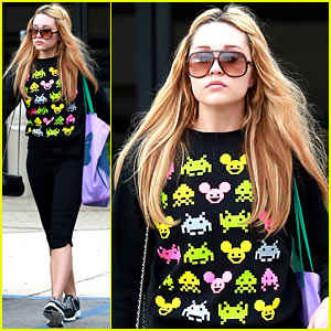 Amanda Bynes Works Out as School is in Full Swing!