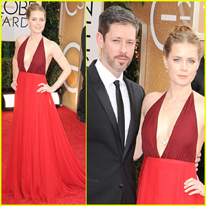 Amy Adams - Golden Globes 2014 Red Carpet
