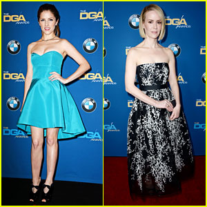 Anna Kendrick & Sarah Paulson - DGA Awards 2014