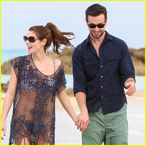 Ashley Greene: Bahamas Bikini Babe with Paul Khoury!