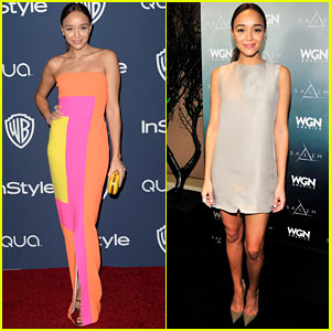 Ashley Madekwe - InStyle Golden Globes Party 2014