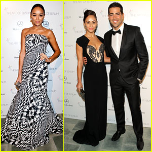 Ashley Madekwe & Jesse Metcalfe - Art of Elysium Gala 2014