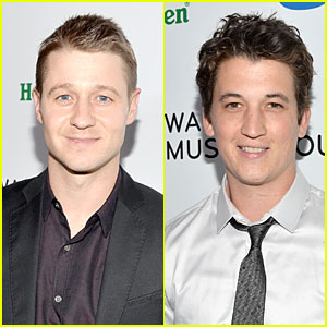Ben McKenzie & Miles Teller: Warner Music Group Grammys 2014 After Party