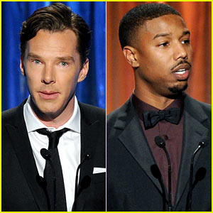 Benedict Cumberbatch & Michael B. Jordan - Producers Guild Awards 2014