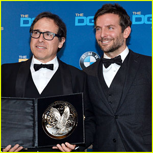 Bradley Cooper Honors David O. Russell at DGA Awards 2014!