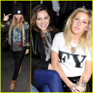 Cara Delevingne & Ellie Goulding: Brooklyn Bowl Launch Party!