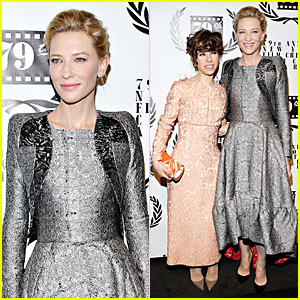 Cate Blanchett: New York Film Critics Circle Awards with Sally Hawkins!