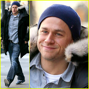 Charlie Hunnam's Smile Warms Us Up in this Freezing Weather!