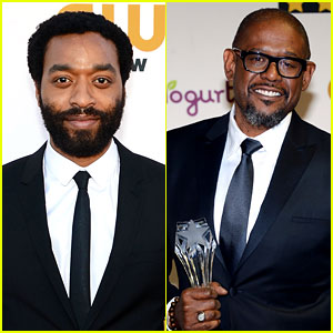 Chiwetel Ejiofor & Forest Whitaker - Critics' Choice Awards 2014