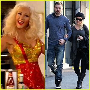Christina Aguilera: 1 Broke Girl at People's Choice Awards 2014!