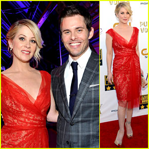 Christina Applegate & James Marsden - Critics' Choice Movie Awards 2014