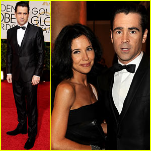 Colin Farrell: Golden Globes 2014 with Sister Claudine