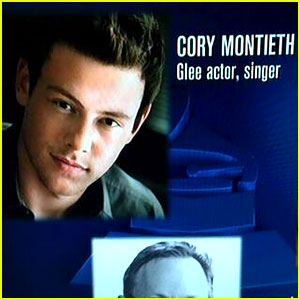 Cory Monteith's Name Misspelled for Grammys In Memoriam