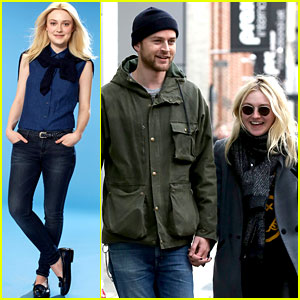 Dakota Fanning & Jamie Strachan: Romantic Big Apple Stroll!