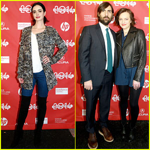 Elisabeth Moss & Krysten Ritter: 'Listen Up Philip' at Sundance!