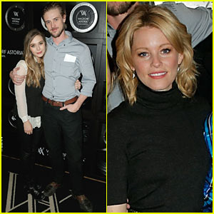 Elizabeth Olsen & Boyd Holbrook: 'Little Accidents' Cast Party